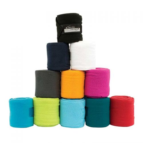 BE502210121 Lami-Cell Horse Sized Basic Fleece Polo Wraps
