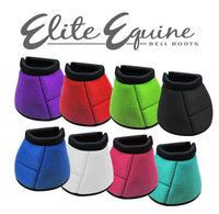 72XM001  Showman Elite Equine Bell Boot