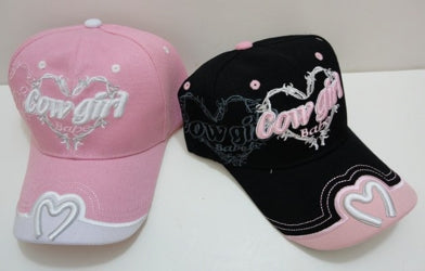 Embroidered COWGIRL BABE HAT