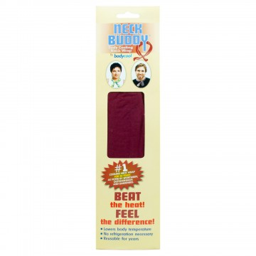 FD171 Neck Buddy Cooling Wrap Burgundy