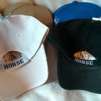 Horse Head Embroidered Ball Cap
