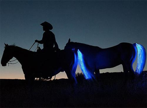 Horse Tail USB Lights Rechargeable LED