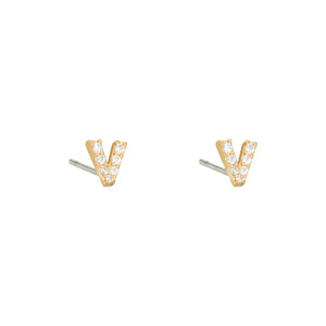 V Earrings