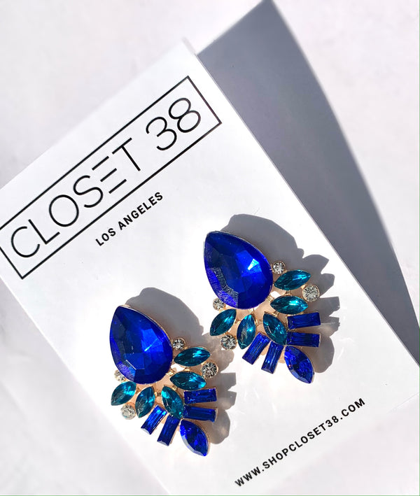 Blue Dynasty Earrings