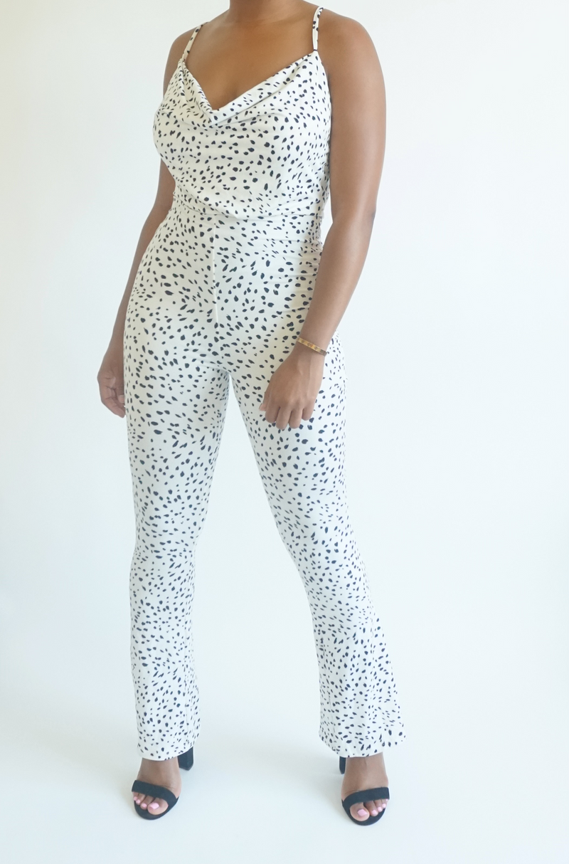 Dot Me Up Jumpsuit