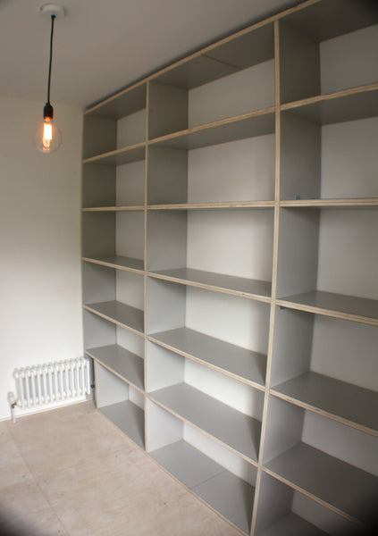 bespoke blackheath greenwich south east london furniture shelving unit wardrobe bookcase handmade