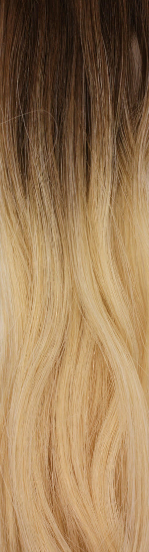 Color #4/613 Vanity Hair Tape-In Extensions
