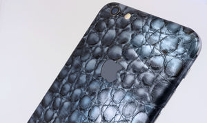 Blue Alligator skin