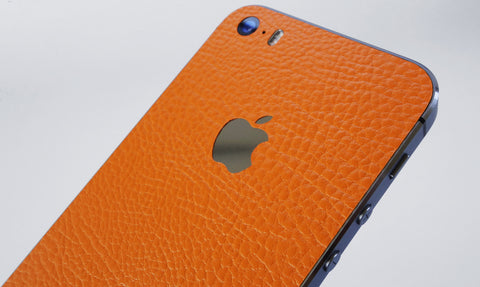 Orange Leather skin