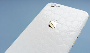 White Alligator skin
