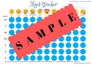 Mood Tracker & Mood Analysis (printable)
