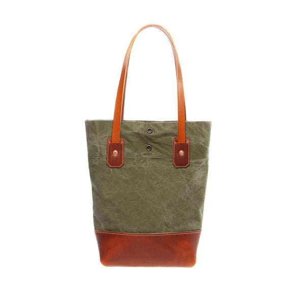 vintage military canvas women's tote