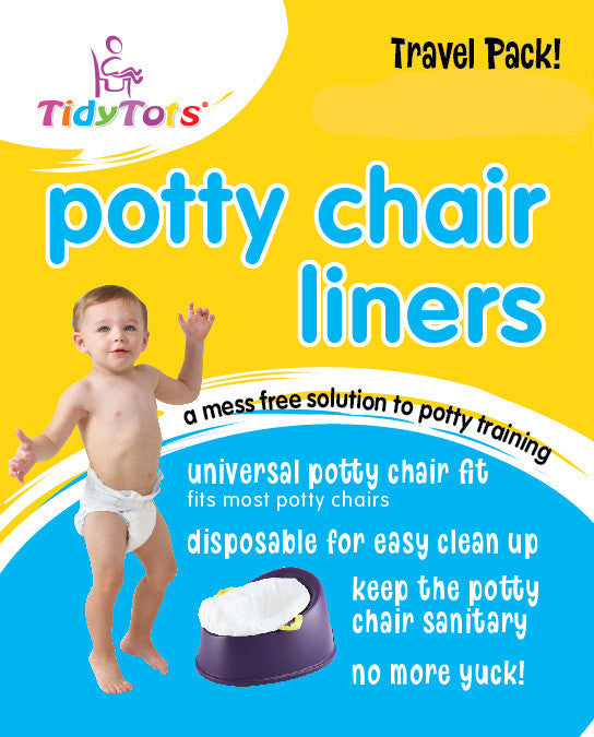 Tidy Tots Travel Pack Potty Chair Liners