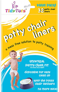 Potty chair liner value pack packaging