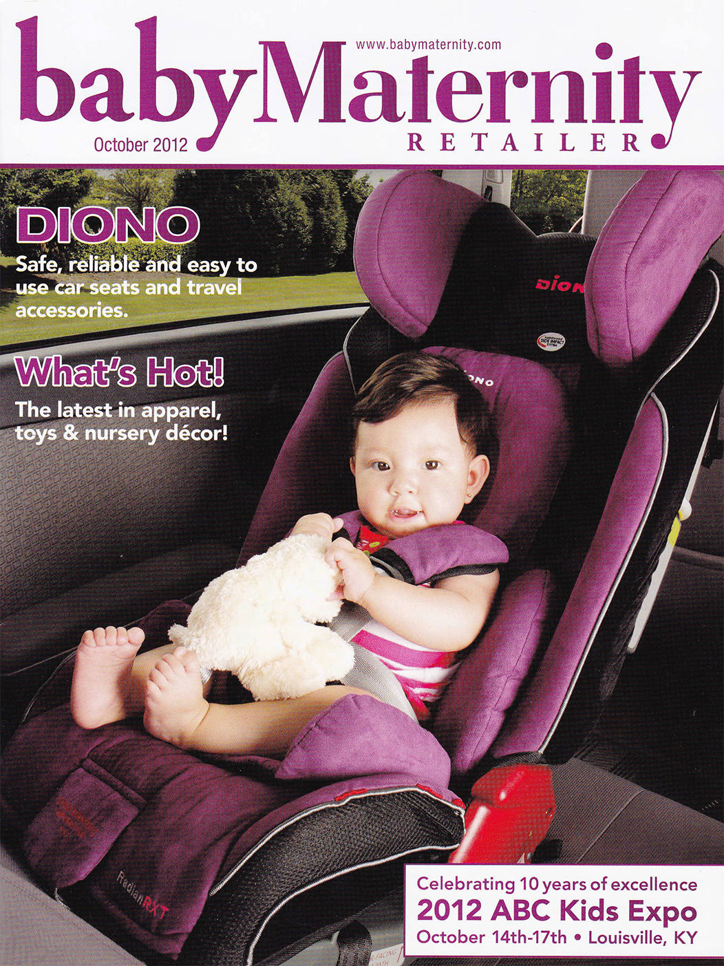 TidyTots featured in Baby Materity Magazine