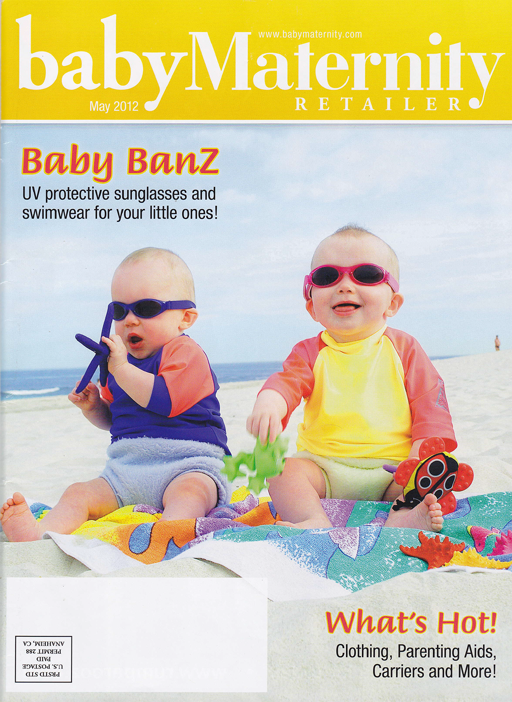 TidyTots featured in Baby Maternity Magazine