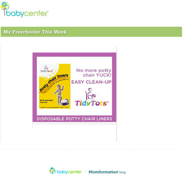 Baby Center Magazine Entry