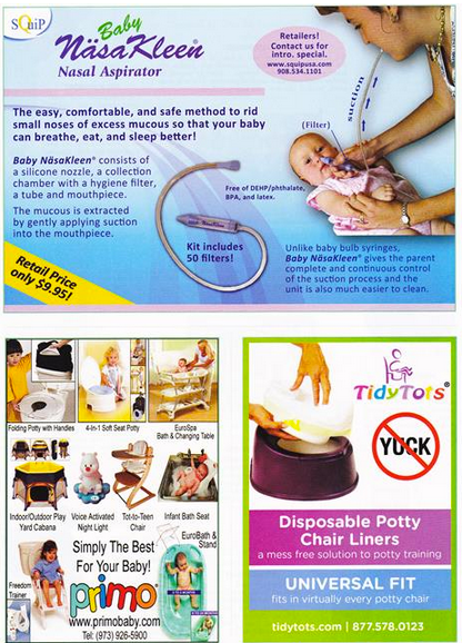 TidyTots featured in Creative Child Magazine