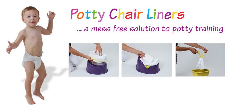Tity Tots Potty Chair Liners, No Yuck!