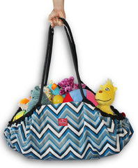 Chevron Stripes Toy Nanny