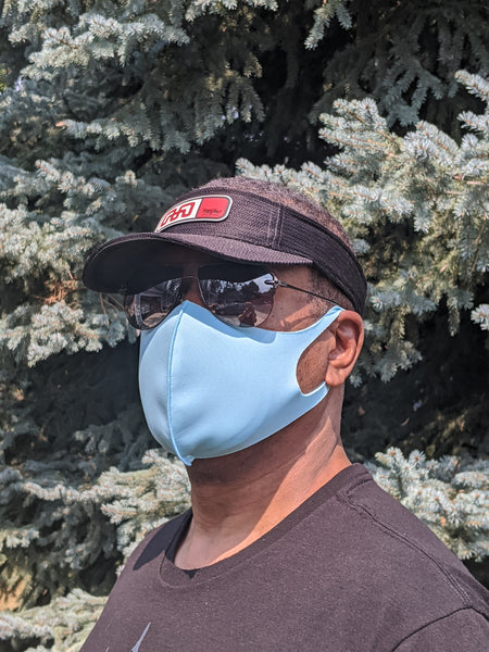 Cloth Face Mask, Copper Ion Fabric Filter - Happy Holidays