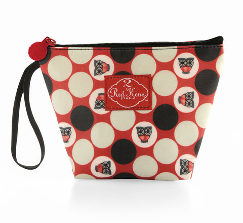Owl Dots Make-up Bag