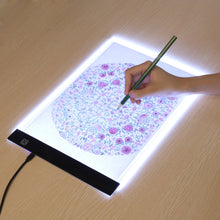 Load image into Gallery viewer, LED Artist Stencil Drawing Board and Tracing Table