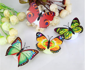 Colorful 3D LED Butterfly Lights
