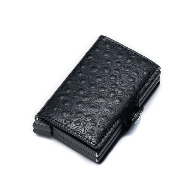 Double Card Box - Leather Credit Card Holder
