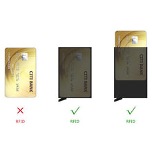 Load image into Gallery viewer, Double Card Box - Leather Credit Card Holder