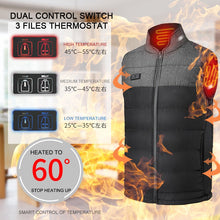Load image into Gallery viewer, Men winter outdoor Heated Vest