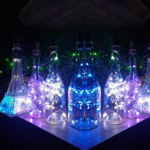 Bottle String Light Cork