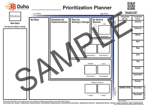 005 Advanced Duha Prioritization Planner (DCOE62)