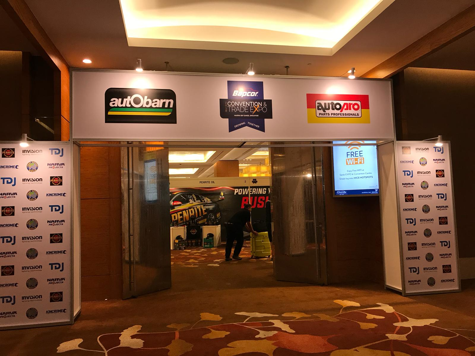 Andatech at the Bapcor Convention and Trade Expo, Singapore