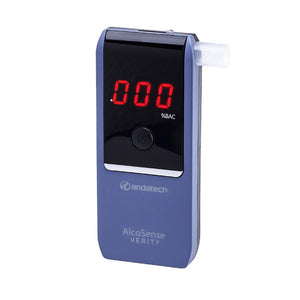 Breathalyzer - AlcoSense Verity - Blue - andatech2005