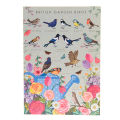 British garden birds card