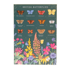 British butterflies card