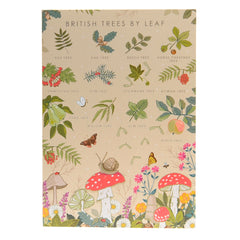 British trees by leaf card