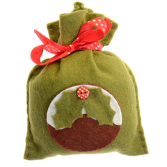 Christmas pudding bag