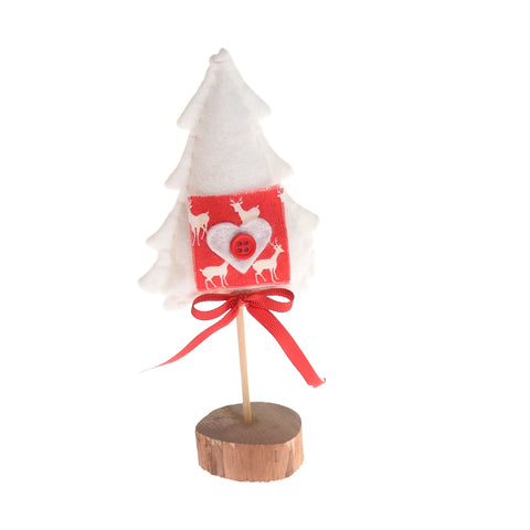 Felt/wood Christmas tree