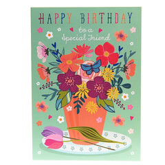 Happy Birthday to a Special Friend card