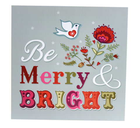 Be Merry and Bright & Comfort and Joy Christmas cards