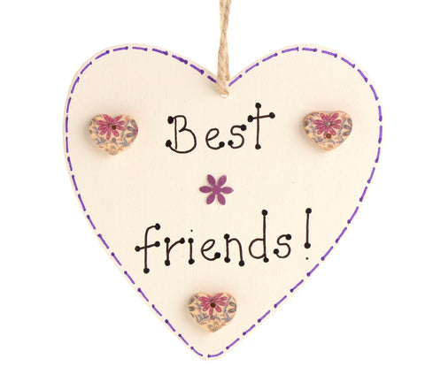 Best friend's heart sign