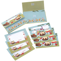 Christmas recipe cards