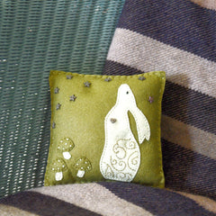 Star Gazing Hare Cushion
