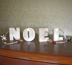 Large Noel mantelpiece hanger