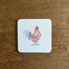 Cockerel coaster