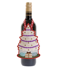 Festive bottle apron