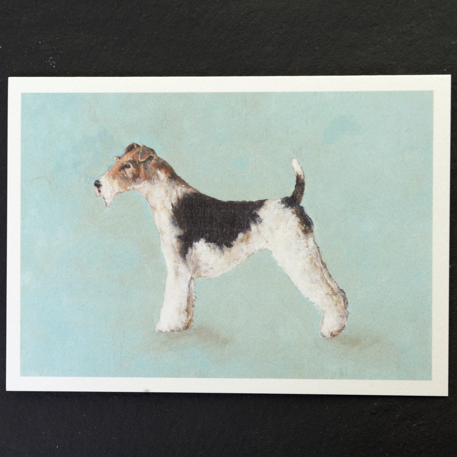 Fox Terrier dog print
