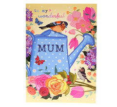 Gardening-themed Mother's Day card